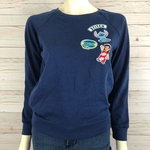 Disney Lilo and stitch patch sweatshirt